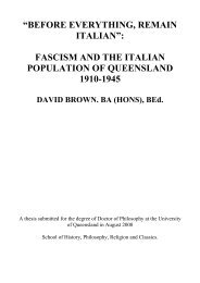 """""""BEFORE EVERYTHING, REMAIN ITALIAN"""": FASCISM AND THE ..."""