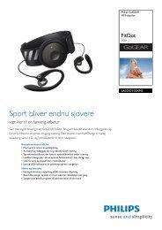 SA5DOT02KNS/12 Philips MP3-afspiller
