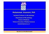 Mohammad Emaneini, PhD
