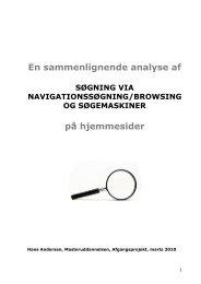En sammenlignende analyse af S GNING VIA NAVIGATIONSS ...
