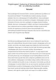 Evaluering af Ordsk lv - k mpe mundfuld - Forskning