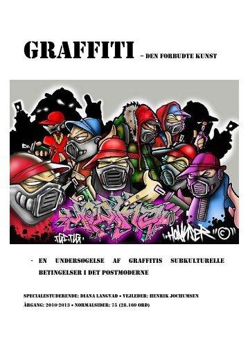 Graffiti - the forbidden art - Forskning