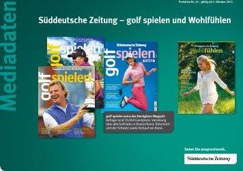 Mediadaten - sz-media.de - Süddeutsche Zeitung