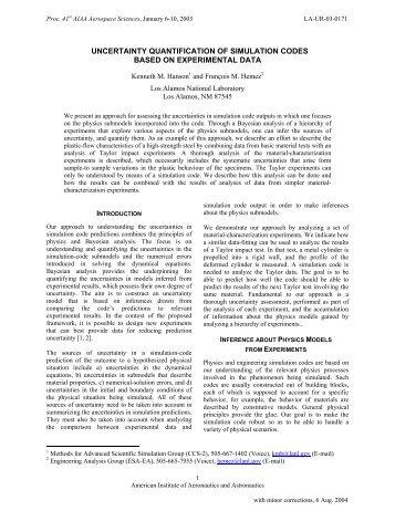 pdf, 318 KB - Kenneth Hanson - Home page