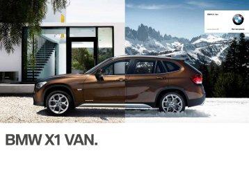 Prisliste BMW X1 Van