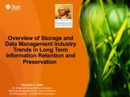 Overview of Storage and Data Management Industry Trends in Long ...
