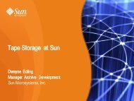 Optional Sun System, Storage, and Software Technology Overview