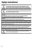 Betjeningsvejledning - Page 2
