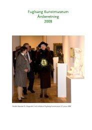 Årsberetning 2008 - Åbne Samlinger