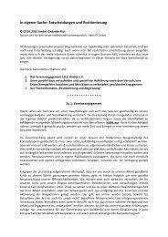 10-01-07 In eigener Sache komplett - Der AmSeL-Gedanke Plus ...