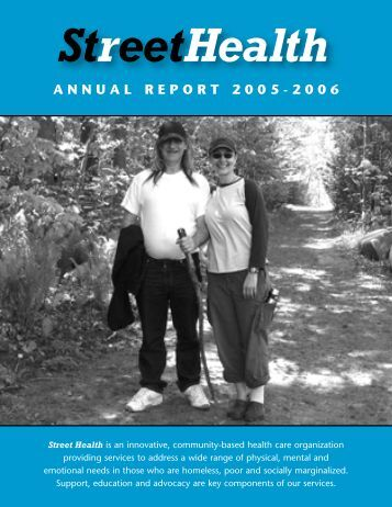 StreetHealth ANNUAL REPORT 2005-2006 - Intraspec