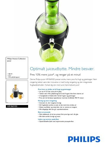 HR1869/00 Philips Juicer
