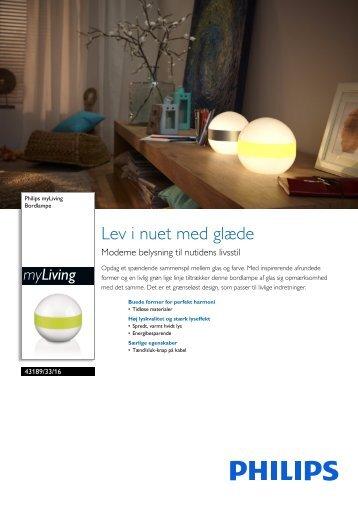 431893316 Philips Bordlampe
