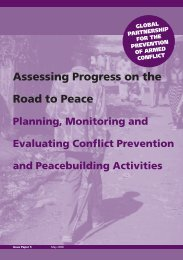 Assessing Progress on the Road to Peace - Are you looking for one ...