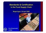 Standards & Certification