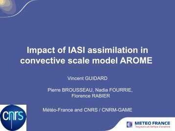 Impact of IASI assimilation in convective scale model AROME
