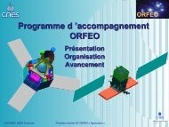 Prog Acc ORFEO HdB - Les Missions Scientifiques du Centre ...