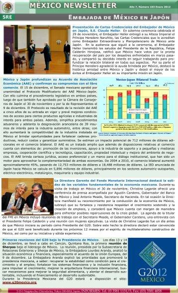 Presentación de Cartas Credenciales del Embajador de México en ...