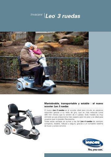 LeoTM 3 ruedas - Invacare