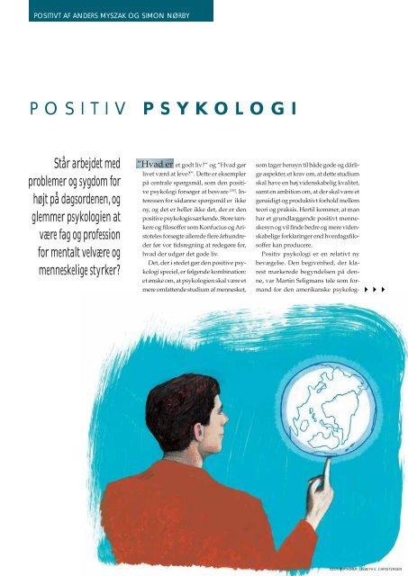 POSITIV PSYKOLOGI - Elbo