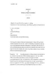 Østre Landsrets dom - Kammeradvokaten