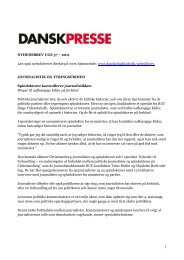 Nyhedsbrevet Dansk Presse uge 37 - Danske Dagblades Forening