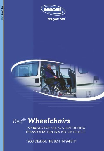 Rea® Wheelchairs - Invacare