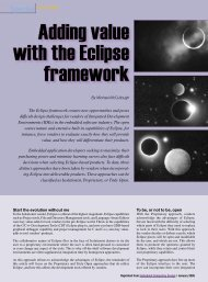 MCC Systems - Adding value with the Eclipse framework