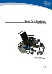 Spare Parts Catalogue - Invacare UK