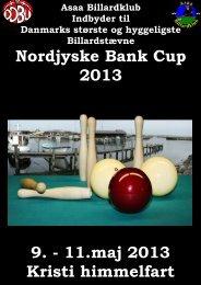 9. - 11.maj 2013 Kristi himmelfart Nordjyske Bank Cup 2013
