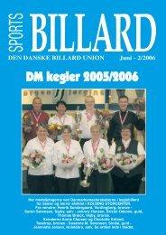 DM kegler 2005/2006 - Den Danske Billard Union