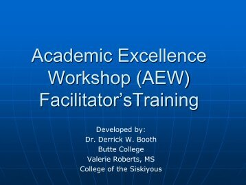 Train the Facilitator