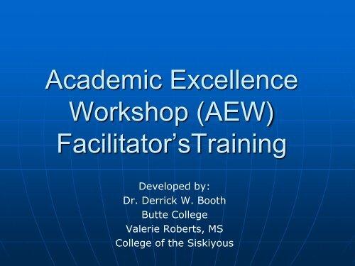 Train the Facilitator