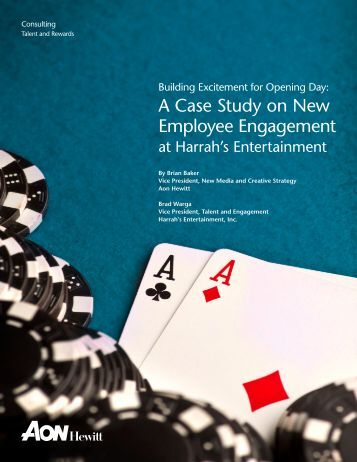 employee engagement case studies honda Analysis of the nhs case study data the employee's opinion of the way in which ies's research into employee engagement was.