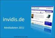 Mediadaten 2011 - invidis