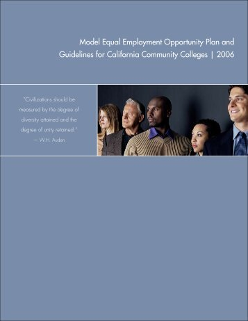 Equal Employment Opportunity Plan - System Operations ...