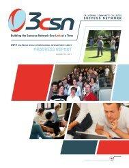 progress report - California Community Colleges Chancellor's Office