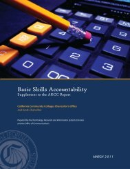 2010 Basic Skills Accountability - California Community Colleges ...