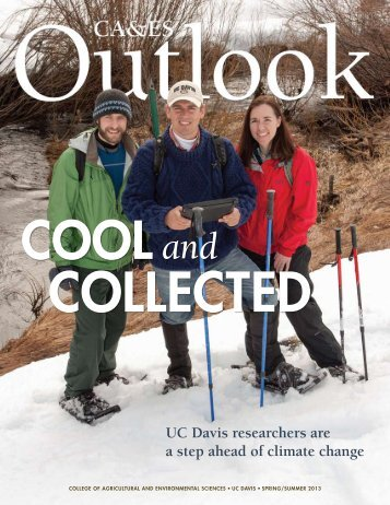 Outlook Spring 2013 - College of Agricultural and Environmental ...
