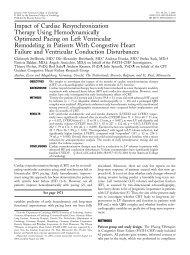 Impact of Cardiac Resynchronization Therapy Using ... - Arcor