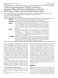 Cardiac Resynchronization Therapy Can Reverse Abnormal ... - Arcor