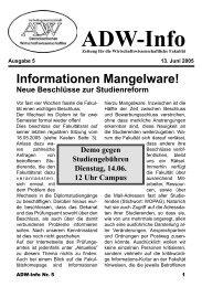 Ausgabe 05 - Arbeitsgemeinschaft Demokratischer ...