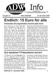 Ausgabe 21 - ADW