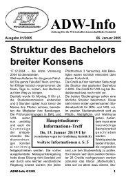 Ausgabe 02 - Arbeitsgemeinschaft Demokratischer ...