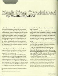 Interview with Mark Dion - Colette Copeland