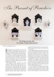 The Pursuit of Porcelain at Leslie Ferrin Gallery - Colette Copeland