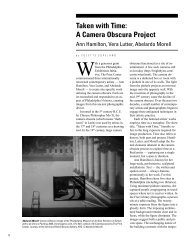 Taken with Time: A Camera Obscura Project - Colette Copeland
