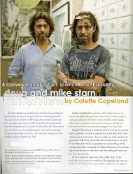 Interview with the Starn Brothers - Colette Copeland