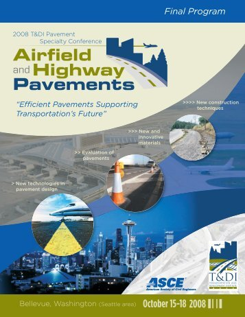 Airfield and Highway Pavements - American Society of Civil Engineers