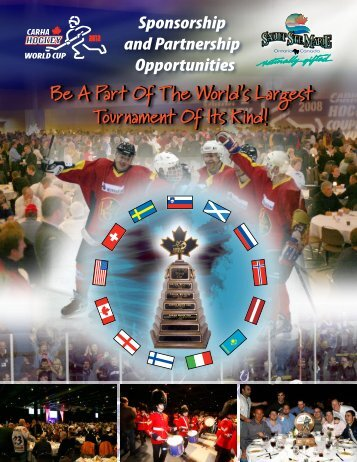 Be A Part Of The World's Largest Tournament Of ... - CARHA Hockey